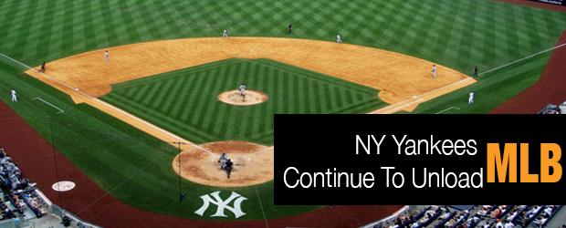 MLB NY Yankees Trades