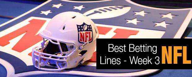 NFL Best Betting Lines - Week 3